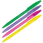 Ручка шариковая Berlingo H-20 Neon син, 1,0мм, корп ассорти 235725