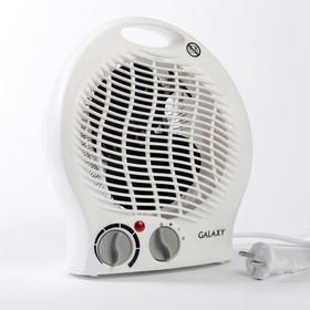 Тепловентилятор Galaxy GL 8171, 2000 Вт, вентиляция без нагрева, белый Ош
