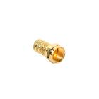 F разъем Proconnect 05-4003-5-7, gold, упаковка 1 шт