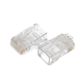 Штекер Proconnect 05-1021-6-8, RJ-45, 8P8C, категория 5e, упаковка 2 шт Ош