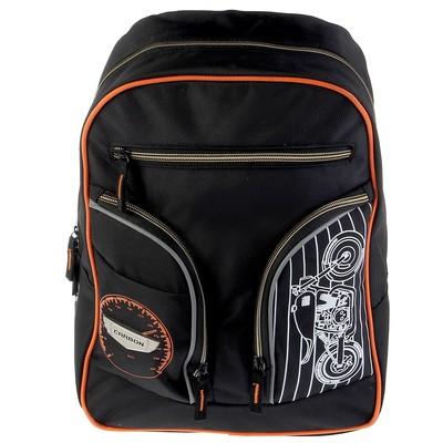 Рюкзак молодежный мал. Proff 39*29*19 Carbon, чёрный FF17-BP-12