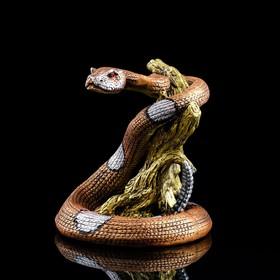 """Статуэтка """"Змея"""" со стразами 27 см"""