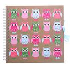 Фотоальбом на 25 листов 10х15 см Innova Scrapbooks - Owls на пружине