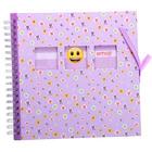 Фотоальбом 25 листов на спирали Innova Emoji. Bound scrapbook. Floral