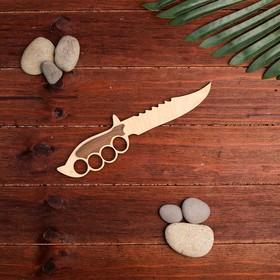Сувенирное оружие 'Нож' 25x5,5 см Ош