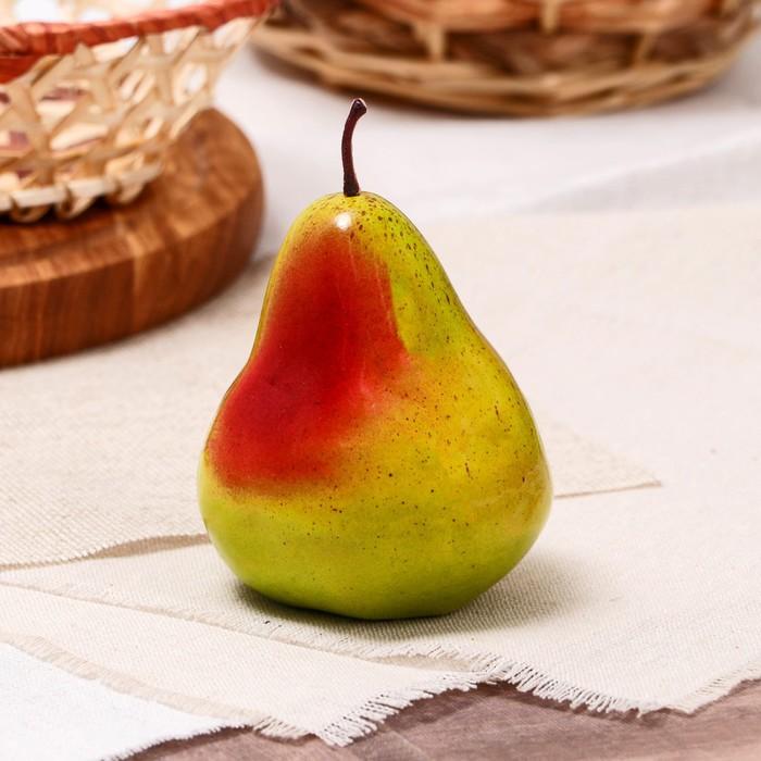 Искусственная зелёная груша