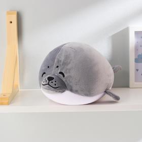 Мягкая игрушка-антистресс 'Тюлень', цвет серый Ош