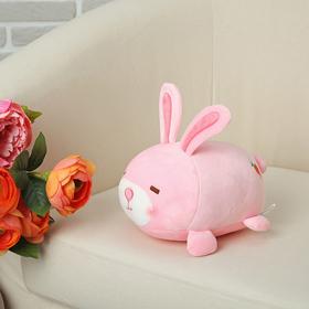 Мягкая игрушка-антистресс 'Розовый зайка' Ош