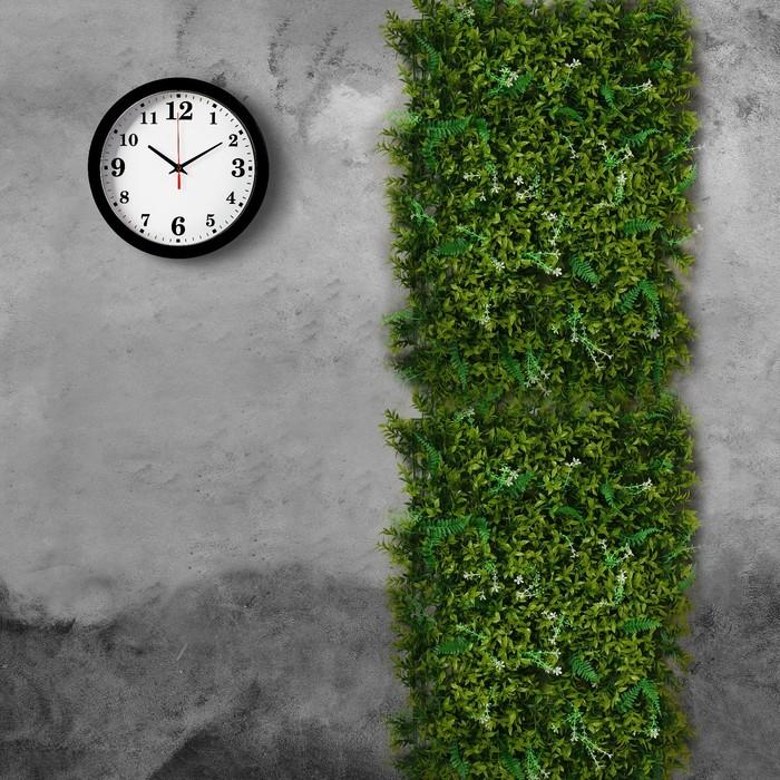 Greengo Газон-коврик искусственный, 40 ? 60 см, «Белые цветы» 2635874