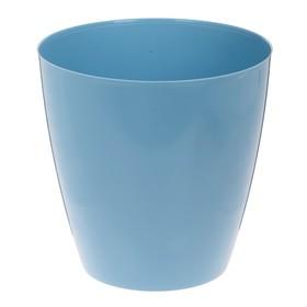 Корзина для мусора 8 л, цвет васильковый Ош