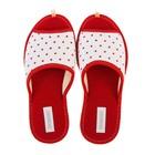 Тапочки женские Domino арт.DKL-15131, цвет красный, размер 36/37