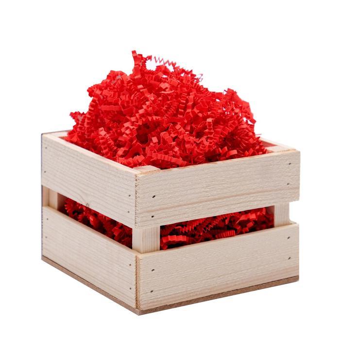 Наполнитель бумажный красный-коралловый, 50 г