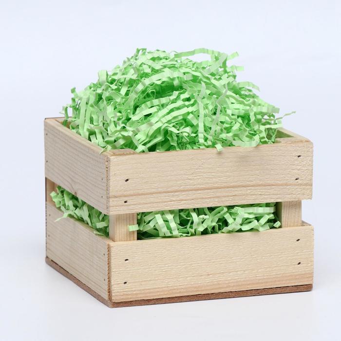 Наполнитель бумажный салатовый, 100 г