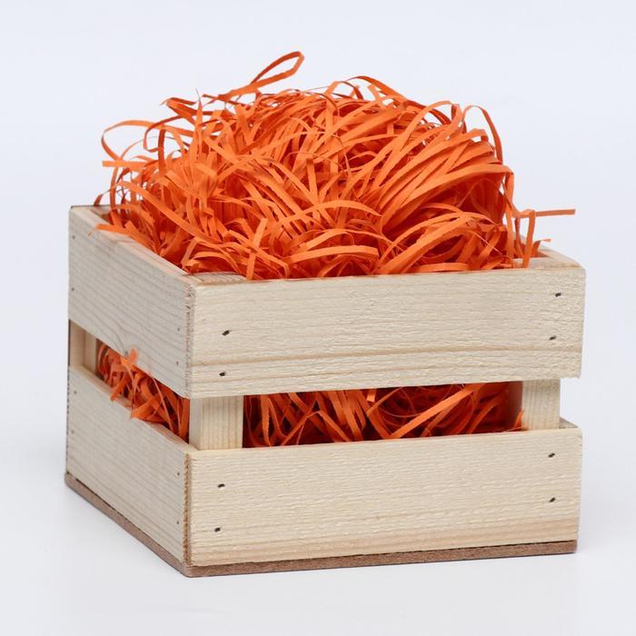 Наполнитель бумажный оранжевый, 100 г