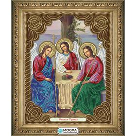 """Схема для вышивки бисером """"Икона Святая Троица"""" 15х19"""