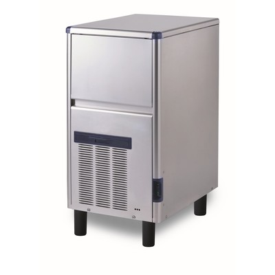 Льдогенератор Gemlux GM-IM34SDE WS, кускового льда (пальчики), 28 кг/сутки, хранение 10 кг