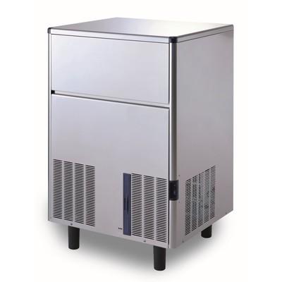 Льдогенератор Gemlux GM-IM100SDE WS, кускового льда (пальчики), 100 кг/сутки, хранение 30 кг   30185