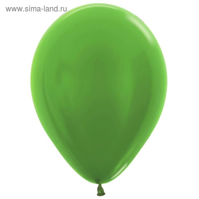 """Balonevi Шары латексные 12"""", металл, набор 25 шт., 3,3 г, цвет светло-зелёный 2630417"""