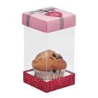 Коробка для капкейка «Великолепие вкуса», 7,7 х 15 х 7,7 см