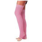 Гетры для танцев №5, без носка и пятки, L=60 см, цвет розовый
