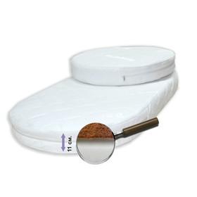 Комплект матрасов 'Дивный сон', размер 75х75 см, 75х125 см, высота 12 см, жаккард Ош