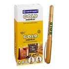 Маркер перманентный для декора 2.5 мм Centropen 2670 золотой