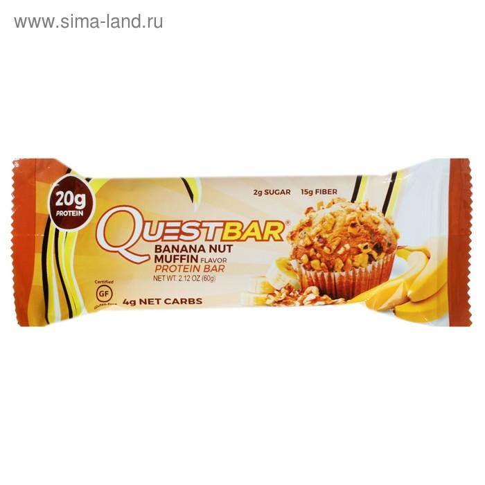 Батончики  QuestBar Бананово-ореховый маффин