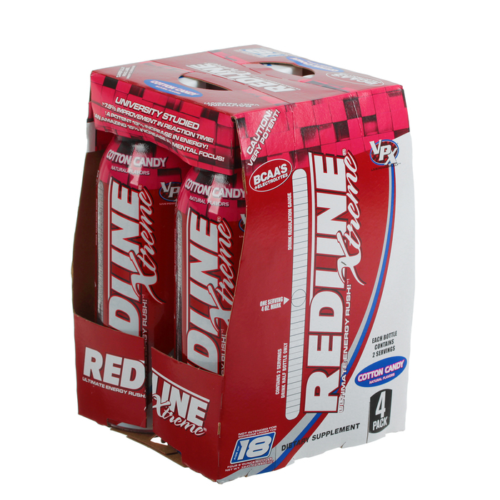 Энергетический напиток Redline Xtreme, 240 мл, Cotton Candy, Сахарная вата