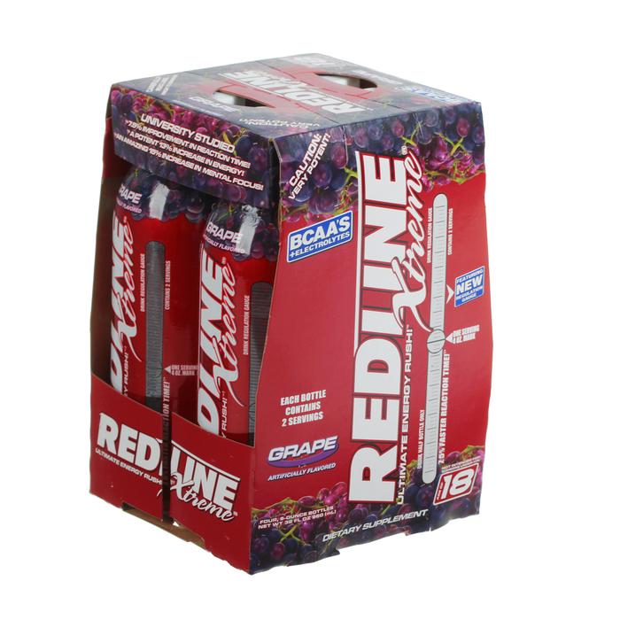 Энергетический напиток Redline Xtreme, 240 мл, Grape, Виноград