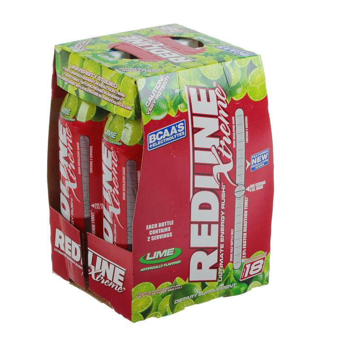 Энергетический напиток Redline Xtreme, 240 мл, Lime, Лайм