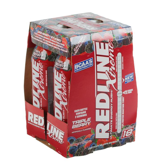 Энергетический напиток Redline Xtreme, 240 мл, Triple Berry, Лесные ягоды