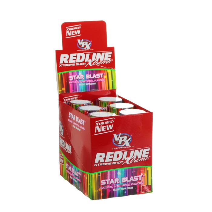 Энергетический напиток Redline Xtreme, Shot, 90 мл, Star Blast, Звездный взрыв