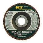 Круг лепестковый торцевой FIT, 115 х 22.2 мм, Р 24