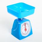 Весы кухонные механические ENERGY EN-406МК, синий, до 5 кг, квадратные