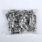 Грузики набивные свинцовые, для литых дисков, 40 г, набор 50 шт.