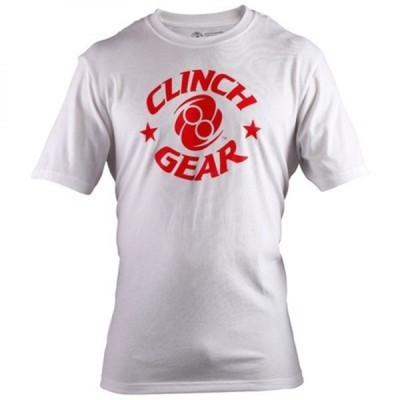 Футболка Clinch Gear Icon Tee- White/Red XL