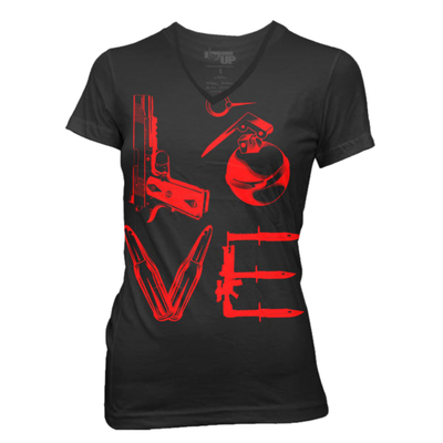 Футболка Ranger Up Black Love XL