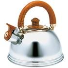 Чайник со свистком Wellberg, 2,25 л
