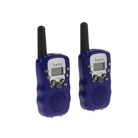 Комплект радиостанций iRadio 110, PMR, до 2 км, 2 шт, без акб и зу Ош