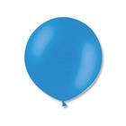 """Шар латексный 24"""" экстра, пастель, цвет голубой"""