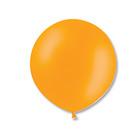 """Шар латексный 24"""" экстра, кристалл, цвет оранжевый"""