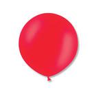 """Шар латексный 24"""" экстра, пастель, цвет красный"""