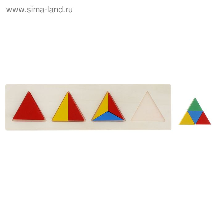 """Головоломка """"Треугольники"""", 10 элементов"""