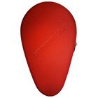 Чехол формованный для двух теннисных ракеток и двух шариков, цвет красный