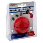 Интерактивная игрушка-шар с лазерным лучом и непредсказуемой траекторией, микс цветов