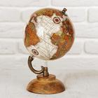 """Сувенир глобус """"Моря"""" 12,5х12,5х21,5 см"""