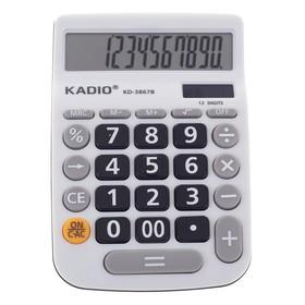 Калькулятор настольный 12-разрядный 3867B двойное питание Ош