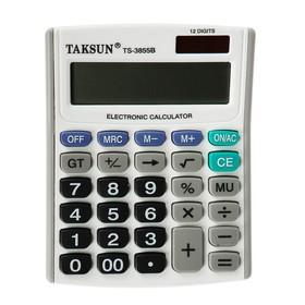 Калькулятор настольный 12-разрядный 3855B двойное питание Ош