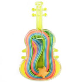"""Полоски для квиллинга """"Гитара"""" набор 72 полоски ширина 1 см длина 25 см МИКС 10х5,5х2,5 см"""