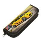 Пенал 1 секция 65х190 мм, ламинированный картон Yellow sports car